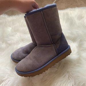 UGG Shoes - UGG Classic Short Light Purple Boots